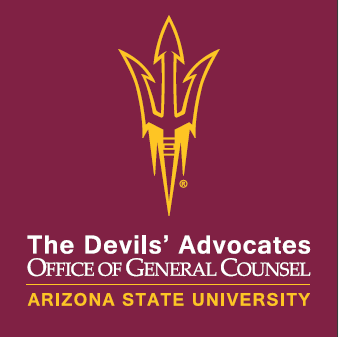 Arizona State University, Office of General Counsel, 18,20