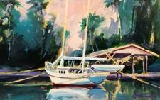 Sailboat by Ken Auster - click to view details