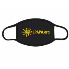 LPAPA Logo Face-Mask - click to view details