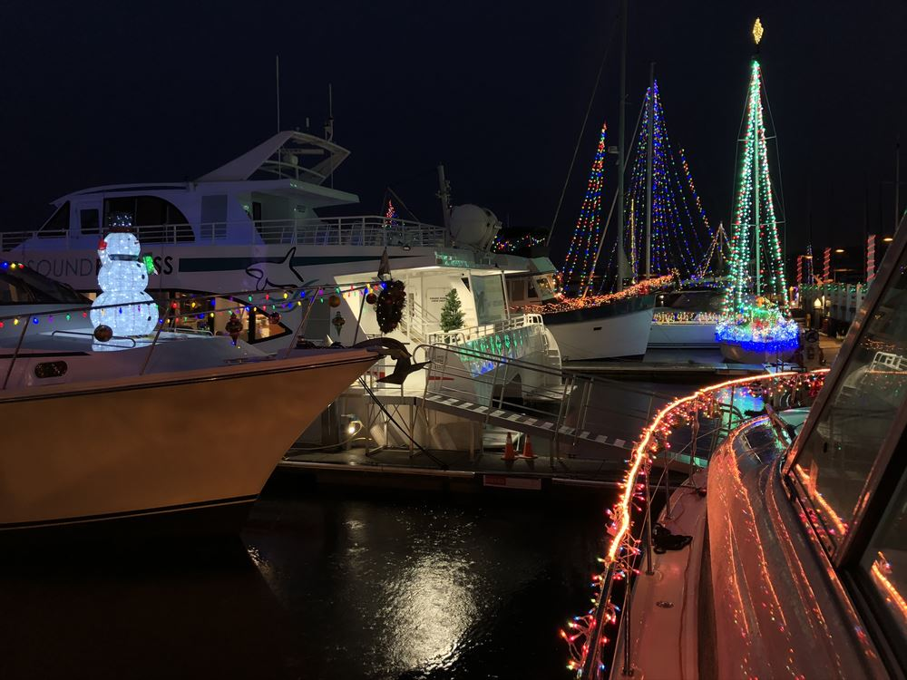 Our annual Holiday on the Docks from 12/13-12/15, 2019
