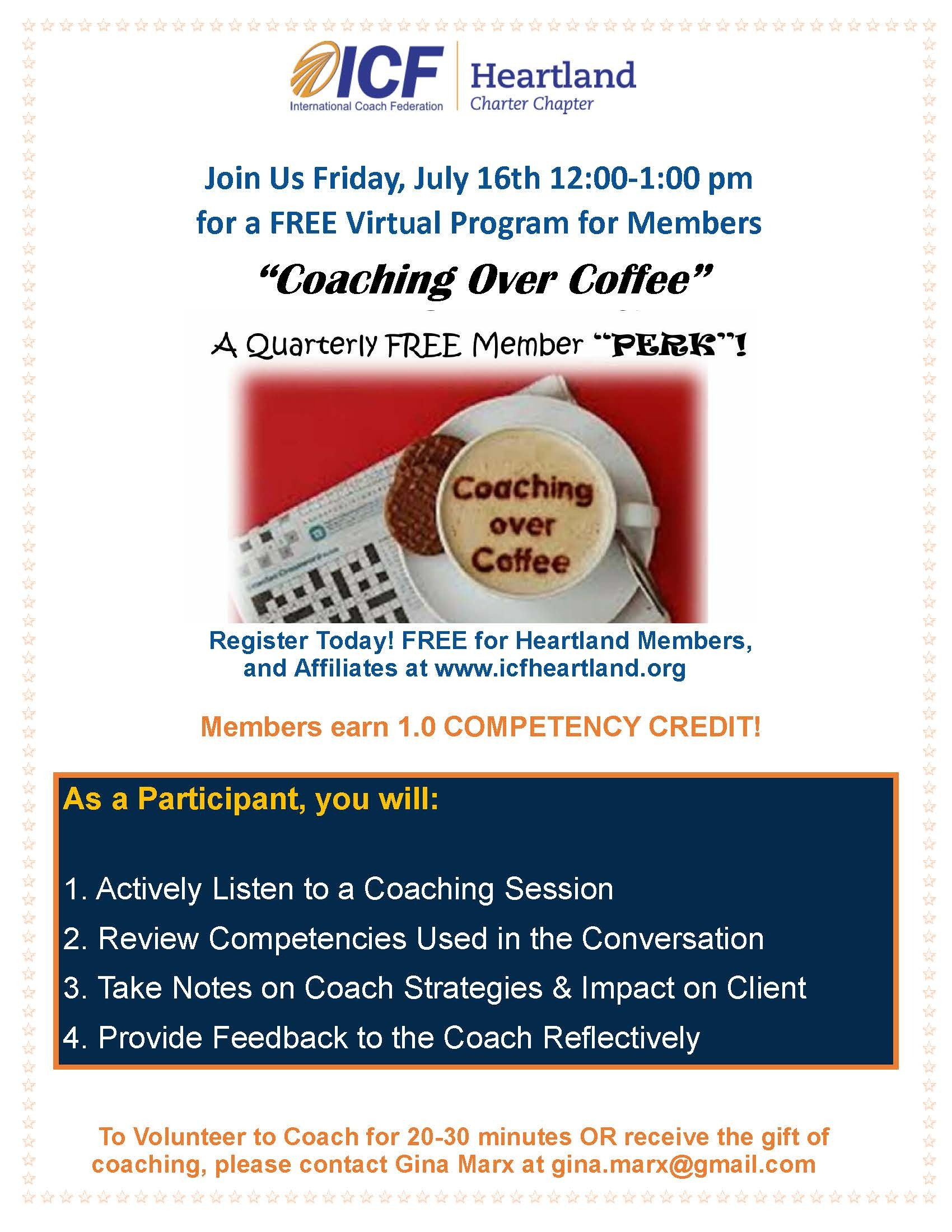 Jul 16 Coaching Over Coffee