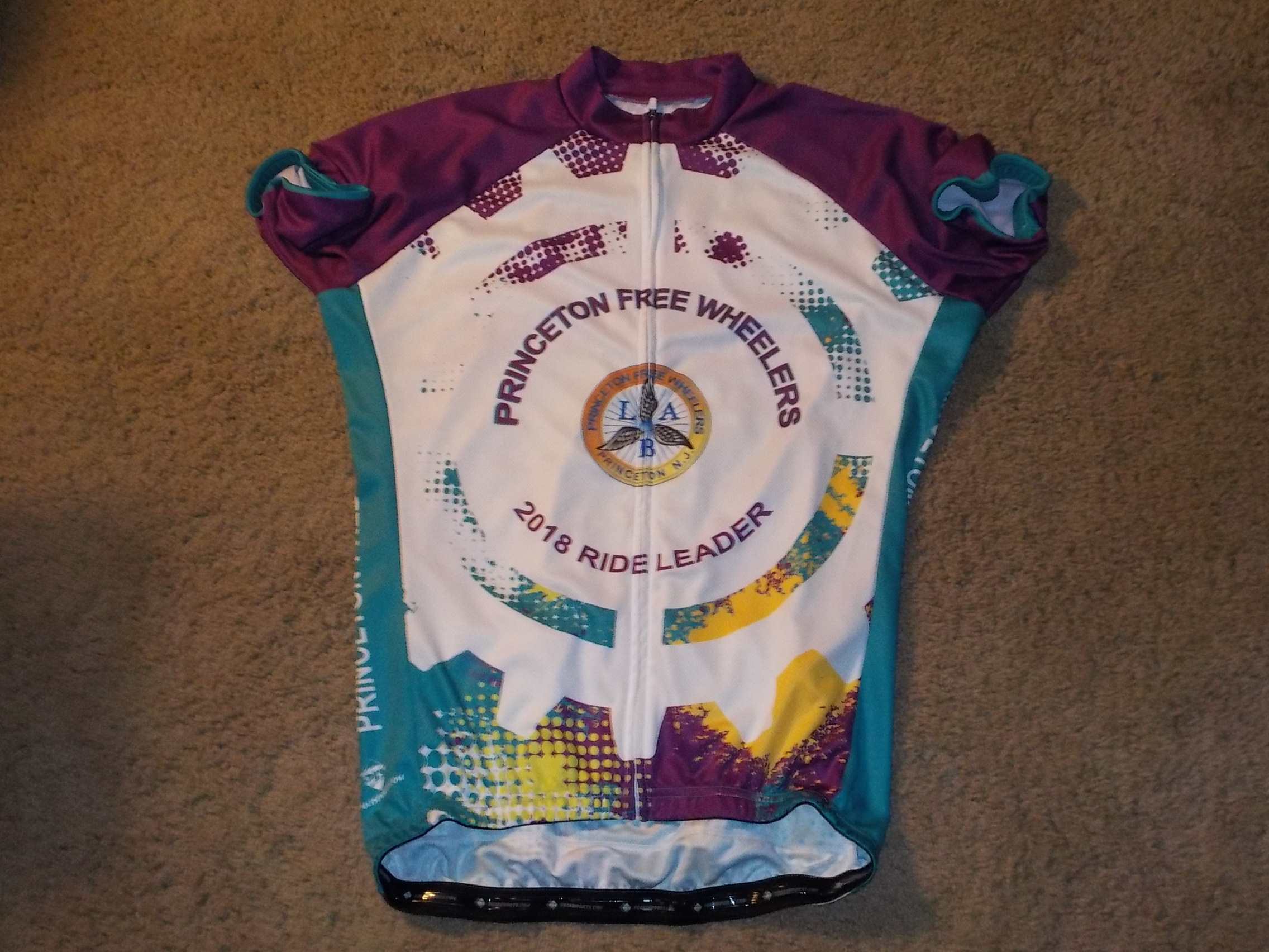 2018 Ride leader jersey