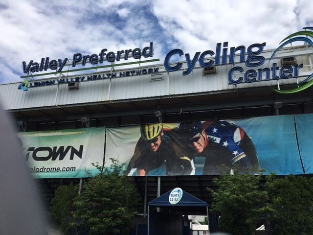 velodrome sign