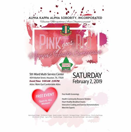 HMAC Pink Goes Red 2019 - Events - Omicron Tau Omega Chapter of