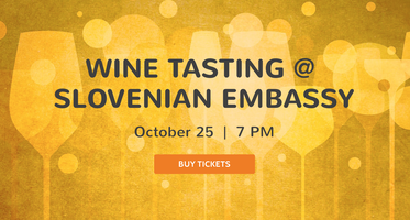 DCV's 1st wine tasting: Hosted by The Friends of Dupont Circle Village and the Slovenian Embassy - 10/25/2016
