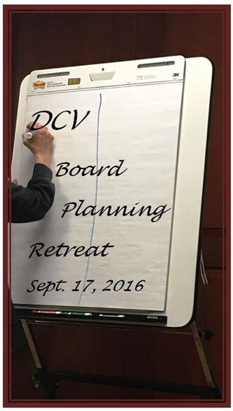 2016/17 Board Members hold a retreat to strategize for the coming year. 9/17/2016