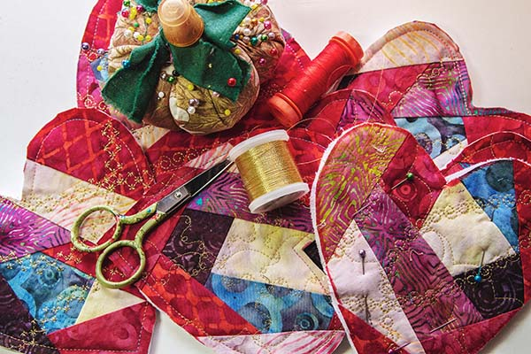 Quilters Hearts Small