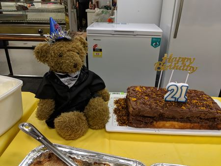 Bill Campbell Dinner 2018 - Club Mascot's 21st Birthday
