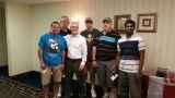 Dr. Arthur Galstian, Andy Porter, Mile Herron, Jay Carr, Karthikey Pounraj