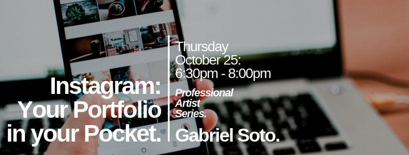 Professional Artist Series: Instagram: Your Portfolio in Your Pocket