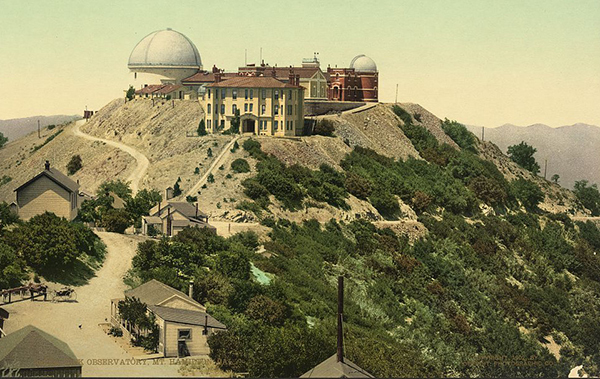 View Lick Observatory from 1902