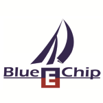 E Blue Chip Logo