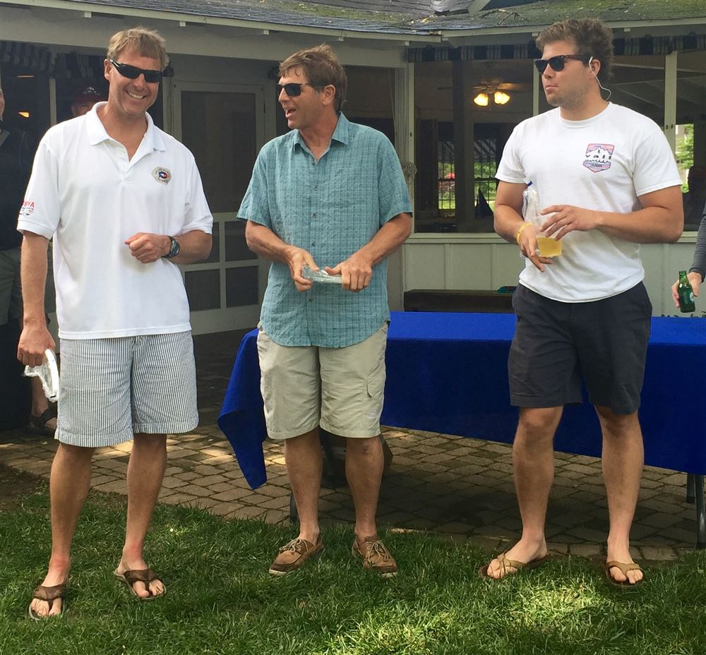 Award winners for the 2016 Wawasee Open Regatta