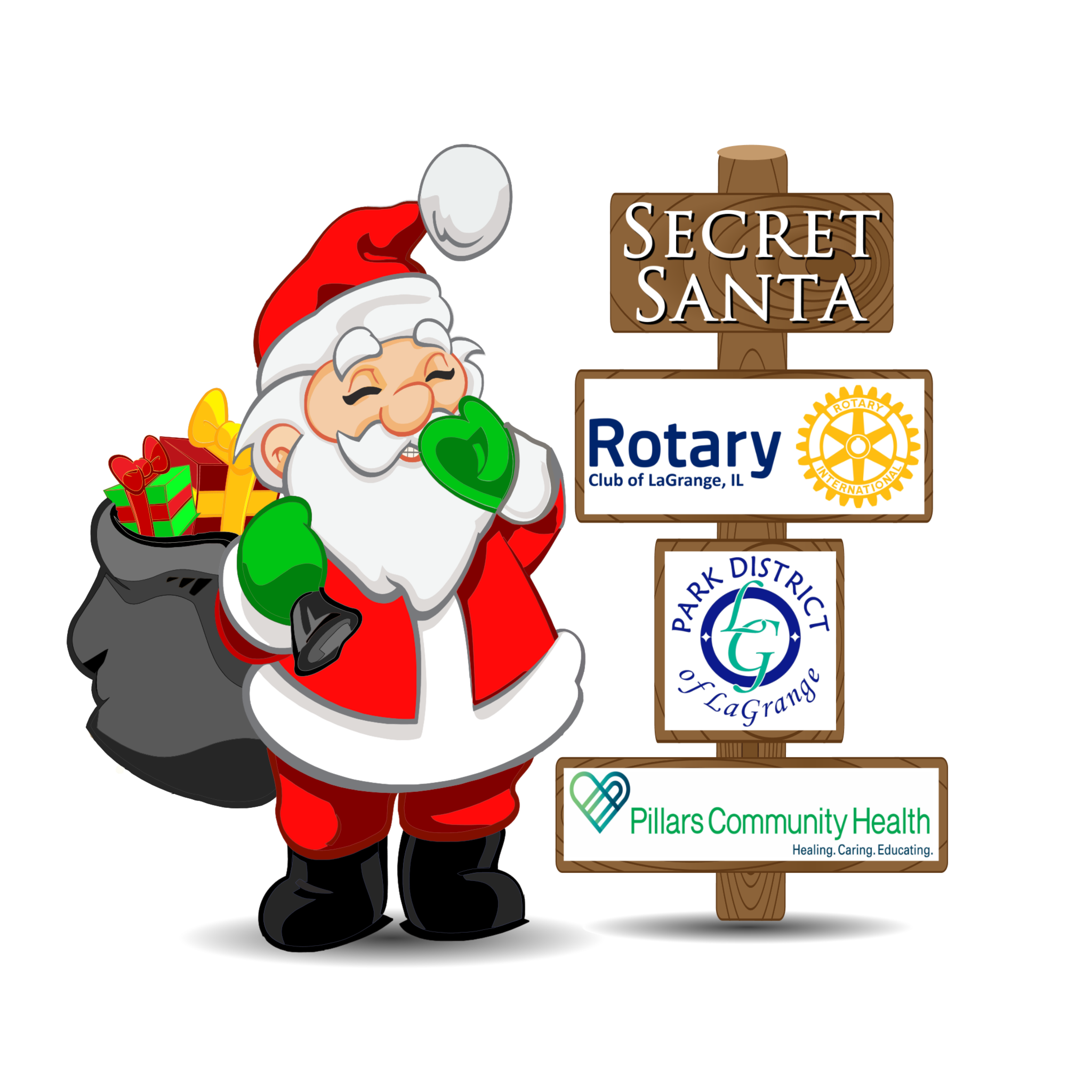 Secret Santa png logo 2018