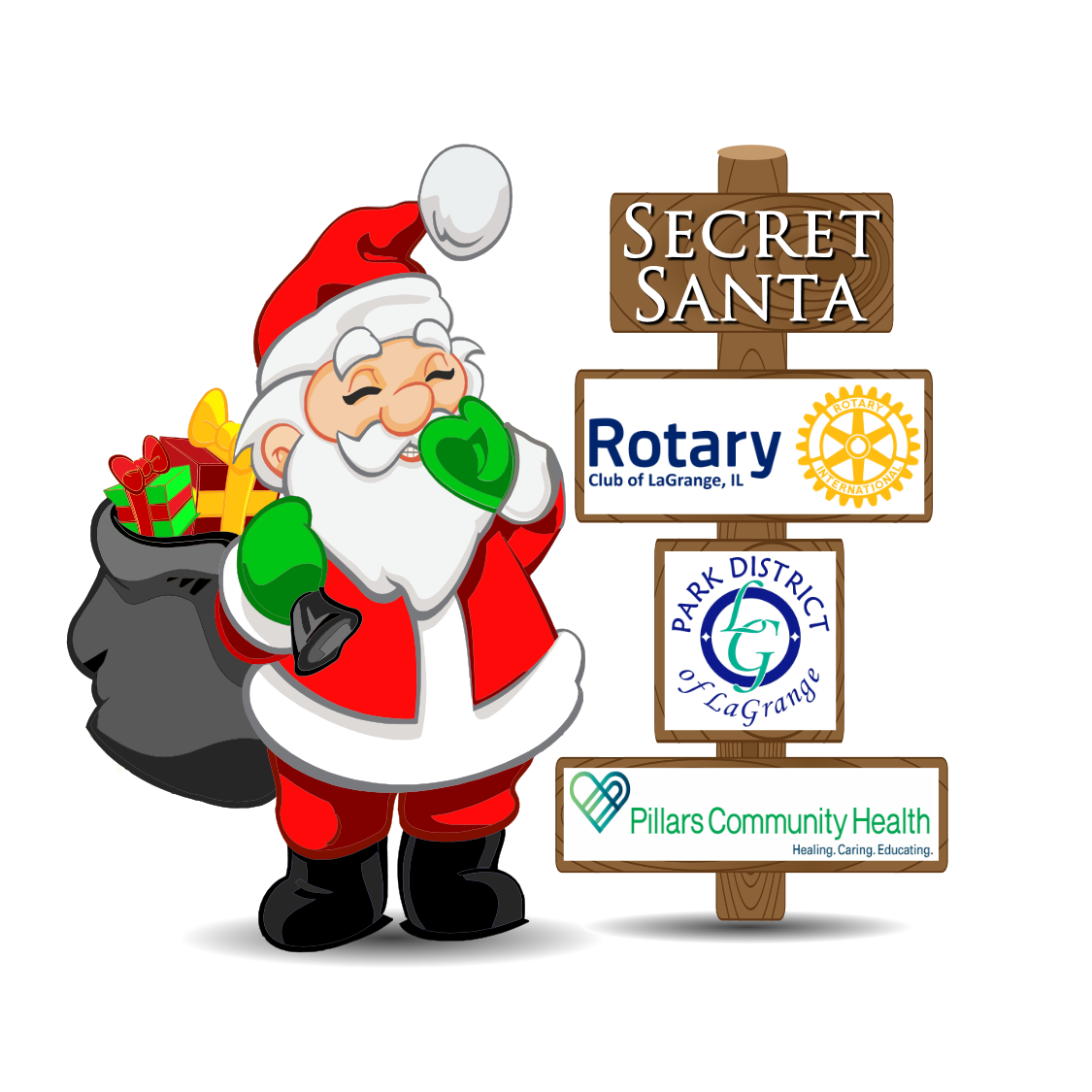 Secret Santa logo png 72dpi