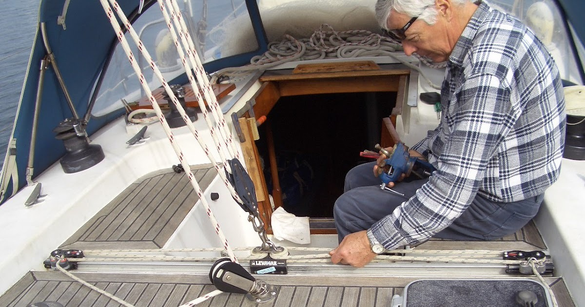 Sailboat Mainsheet Traveller repair