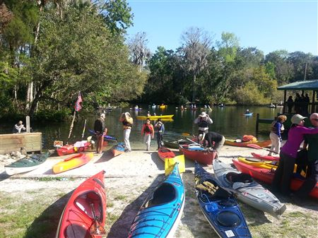 Weeklong BCCC Trip to Florida's Nature Coast in March of 2014.  We floated multiple rivers in the region.