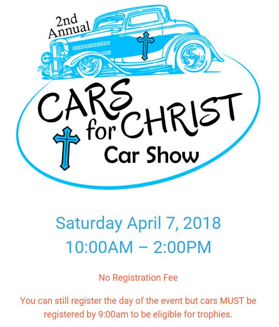 Nd Annual Cars For CHRIST Car Show Plant City Events Tampa - Bay city car show 2018