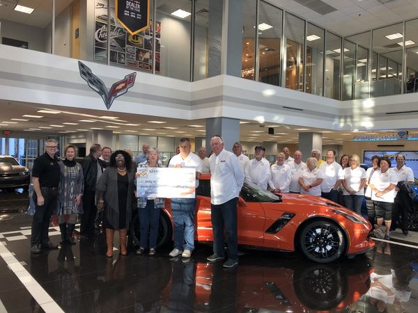 2019 check presentation to Unity in the Community