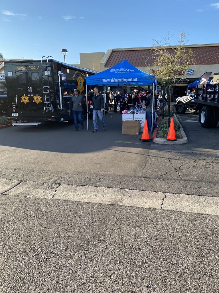 2019 St. Vincent de Paul Toy Drive at Desert Rat Off-Road Centers