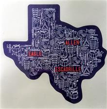Allen Eagle Escadrille Texas  Decal - click to view details