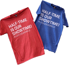 Half-time is Our Showtime T-Shirt - click to view details