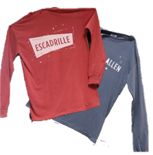 Allen Escadrille Shapes T-Shirt - click to view details