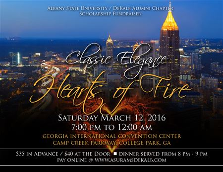 Hearts of Fire 2016 Classic Elegance - 7th Annual Scholarship Fundraiser.