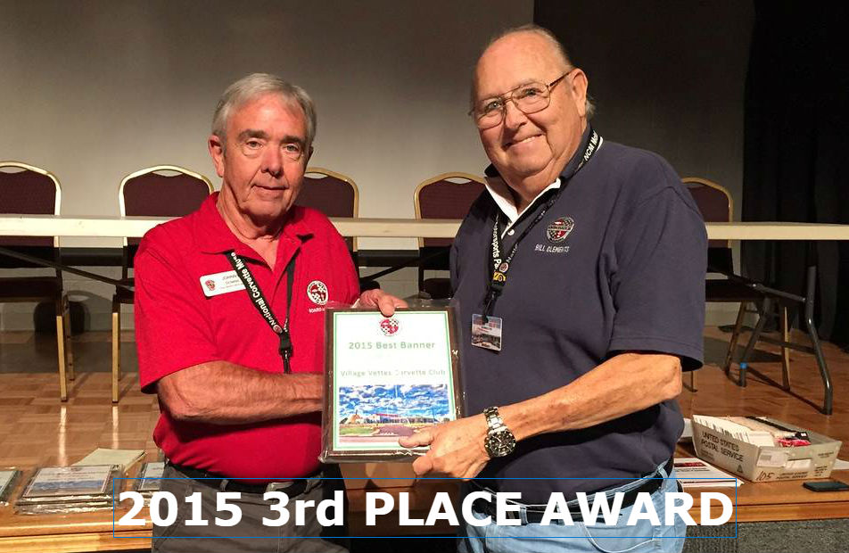 2015 3rd PLACE AWARD NCM BANNER