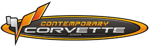 contemporary corvette logo