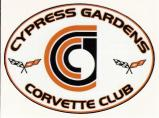 Cypress Gardens Corvette Club Logo