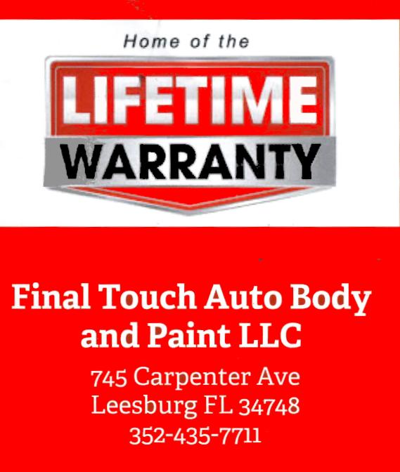 final touch warranty