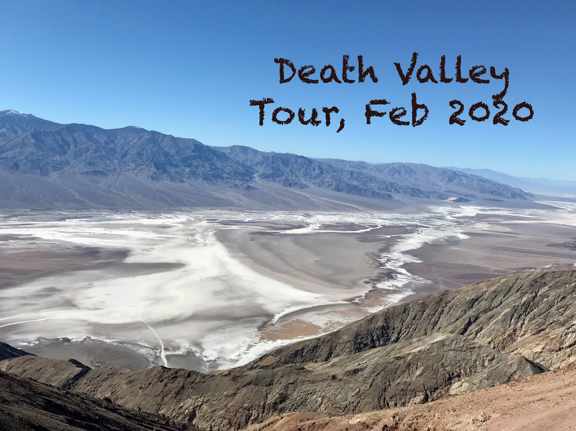 Death Valley Tour, 2020