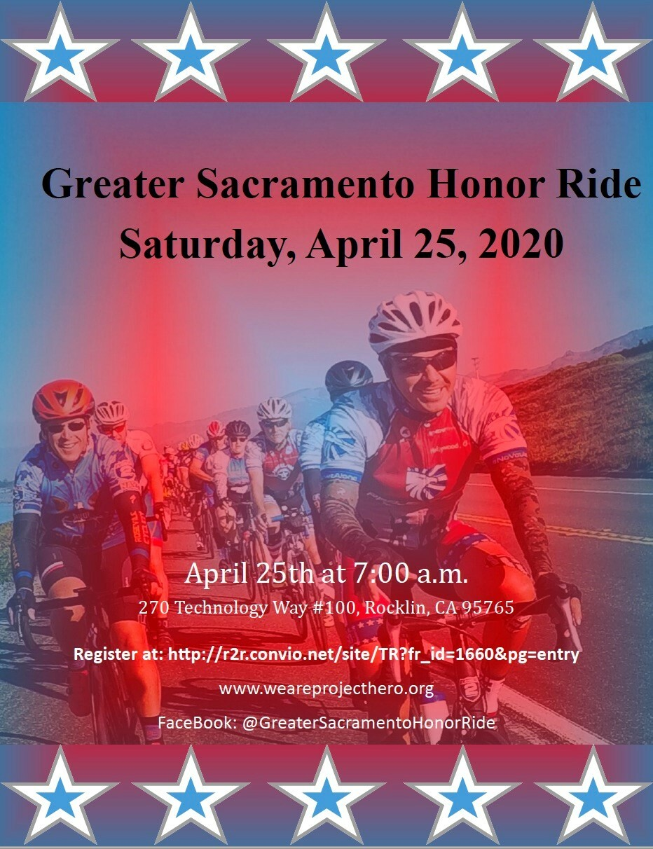 Honor Ride Poster and link