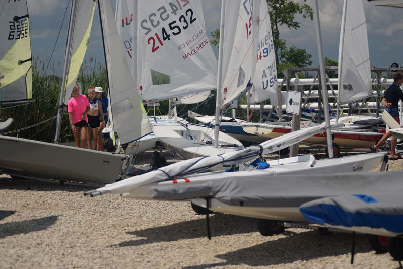 Pics from 7/29 Jr. Sailing Wed. Races