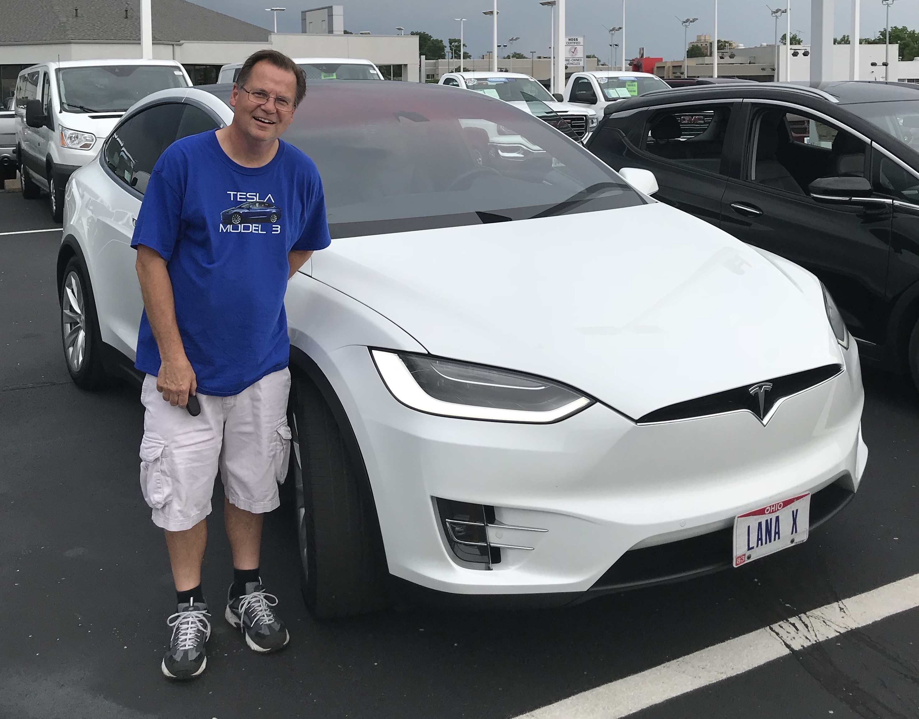 Drive Electric Dayton Jim Kelly Tesla Model X