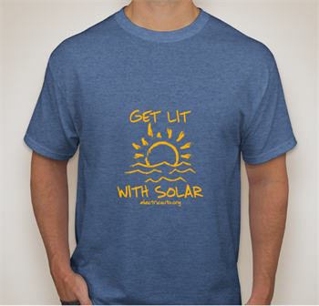 Get Lit With Solar TShirt