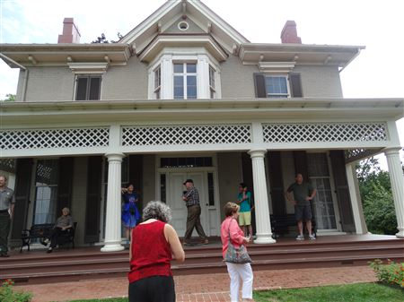GV visited the Frederick Douglas House in August 2017.  Frederick Douglas was an African-American social reformer, abolitionist, orator, writer, and statesman.