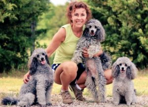 Suzanne Photo with Dogs