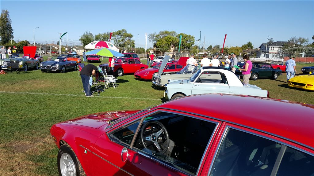 All Italian Car and Motorcycle Show in Alameda CA - all proceeds go to fund Alameda Special Olympics