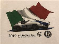 2019 All Italian Day T-Shirt - click to view details