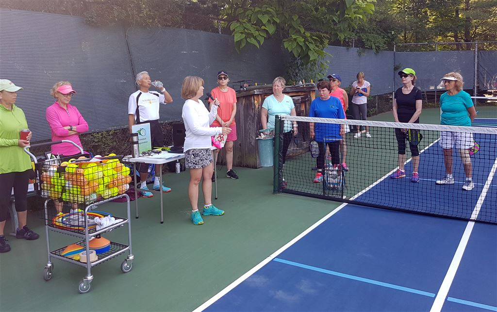 Pickleball enthusiasts now have the opportunity to spend quality time developing their game, while having fun learning the art of the game.