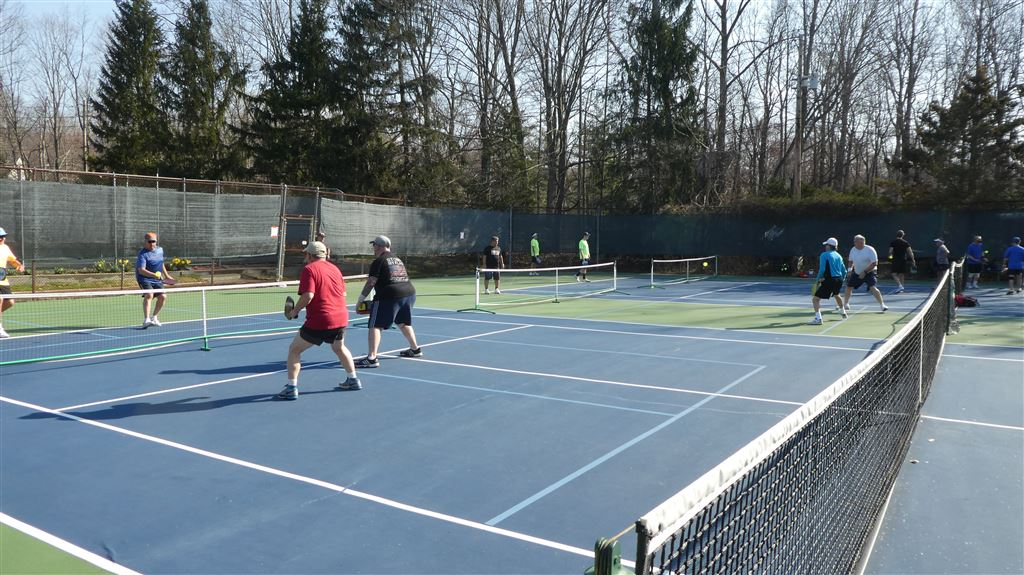 The New Jersey Pickleball Association (NJPA) held their Spring tournament on April 14 & 15. It was an outdoor event at Brookside Racquet and an indoor event on Sunday due to the win and cold. Saturday