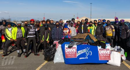 GII and DIVA Cycling Coat Drive