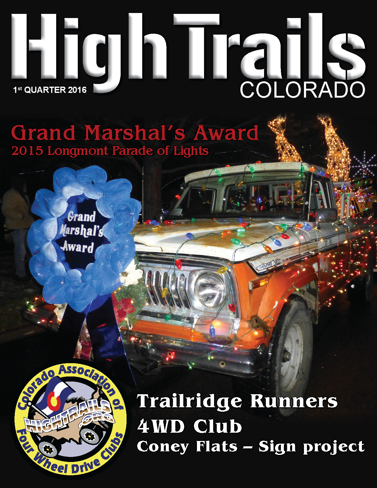 High Trails 1st Quarter 2016