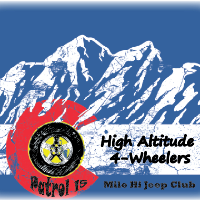 Patrol 15: High Altitude Fourwheelers