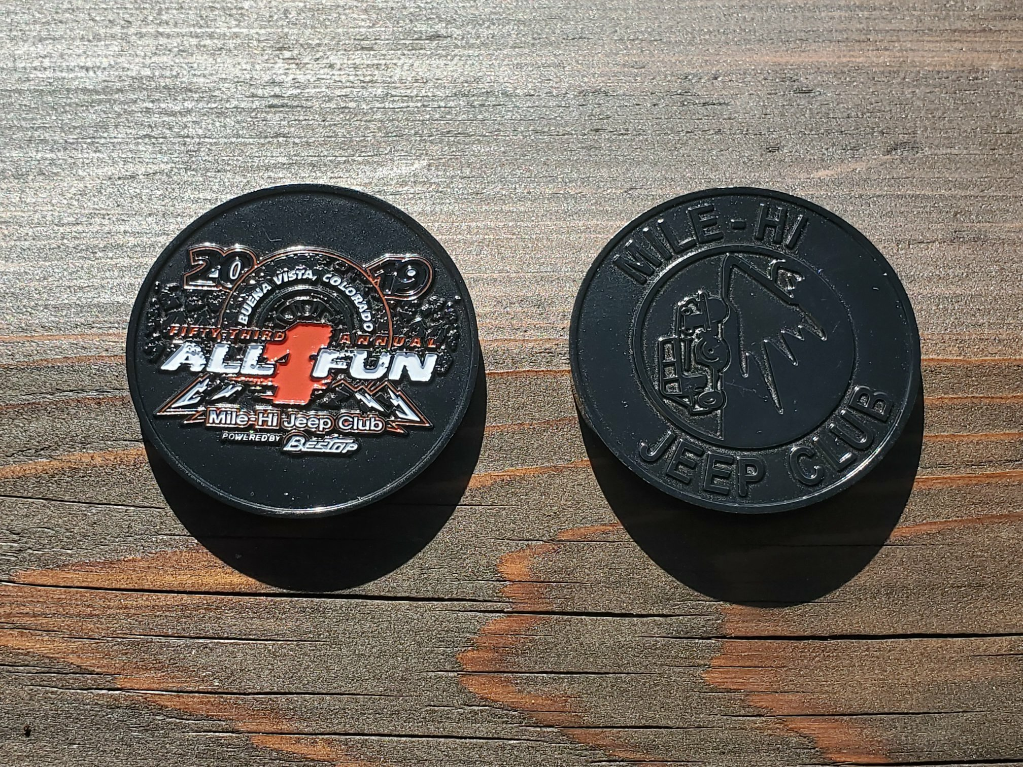 2019 All-4-Fun Challenge Coin