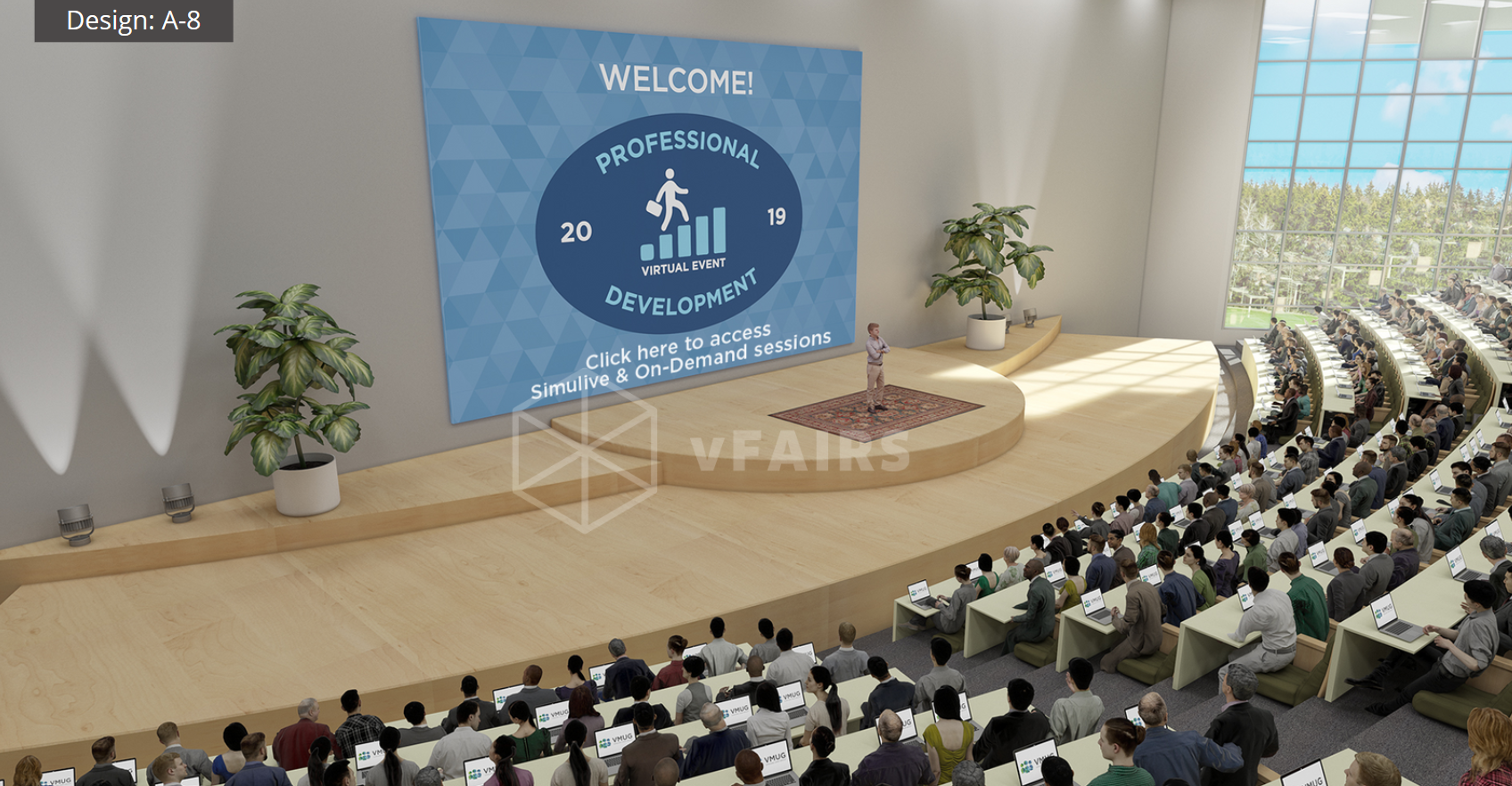 ABMLC 2020 Virtual Auditorium Example