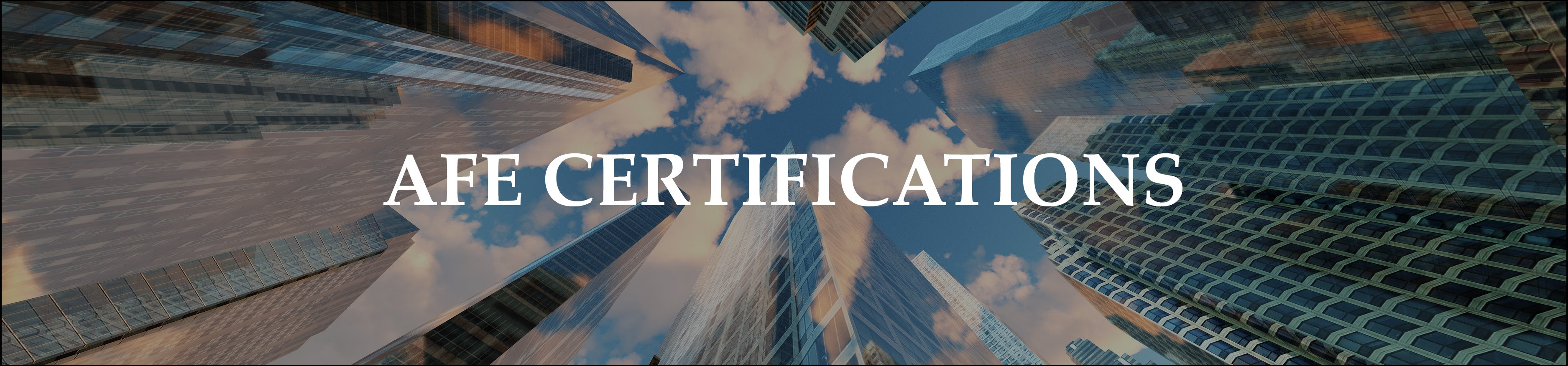 Afe Certifications Association For Facilities Engineering