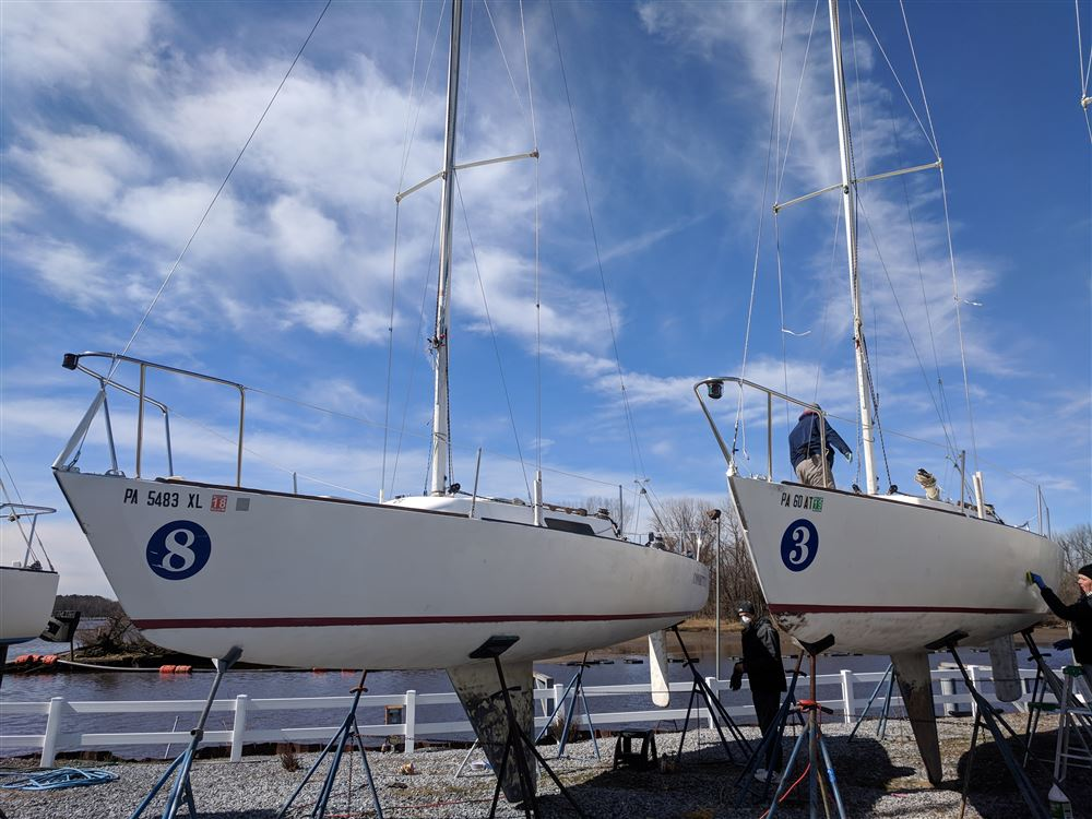 Learn how to maintain your own boat while helping the club keep her 7 boats in safe and fun shape.